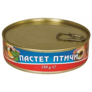 180 гр. Пастет Птичи консерва